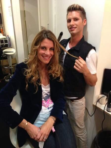 Benoît revient à ses premières amours, à savoir coiffeur, avec Sophie Thalmann