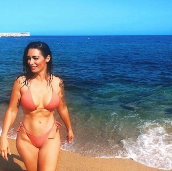 Emilie Nef Naf avait le sourire sur la Costa Brava.