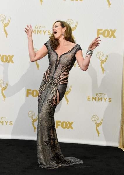 Allison Janney rugit de plaisir, elle a reçu un prix pour sa prestation dans Mom