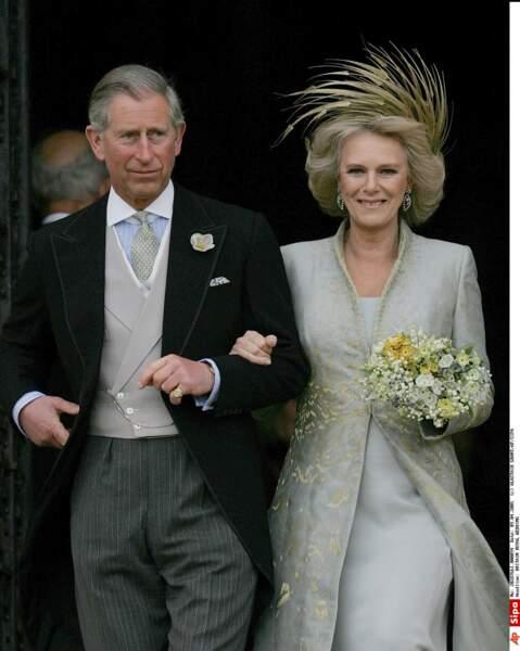 Le 9 avril 2005, Charles épouse (enfin!) Camilla Parker Bowles qu'il n'a jamais cessé d'aimer