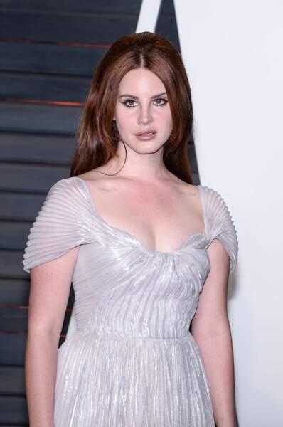 Lana del Rey en vedette retro…