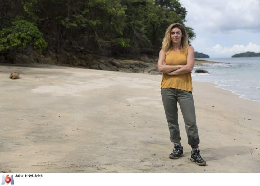 Claire, camerawoman, a un mental d'acier ! (27 ans)