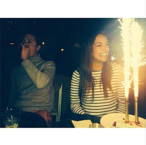 L'ex-Miss a fêté l'anniversaire de sa copine Marine Lorphelin !