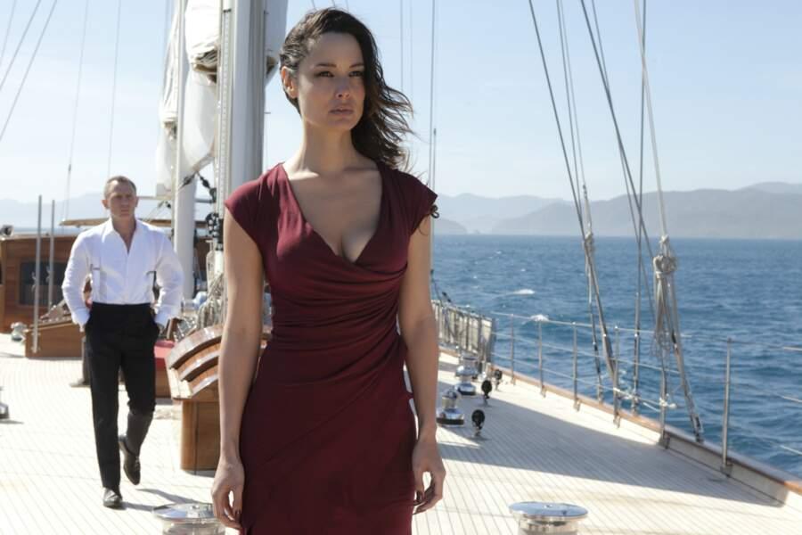 Bérénice Marlohe, la révélation de Skyfall en 2012. Il est loin le temps de R.I.S. police scientifique !