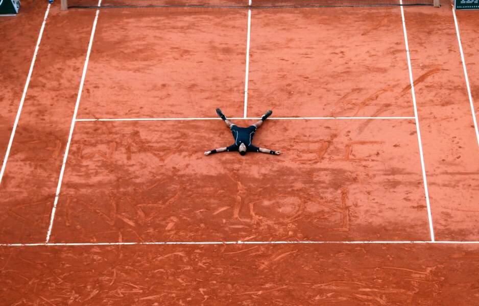 Jo-Wilfried Tsonga écrit son amour à Roland-Garros (qui le lui rend bien)