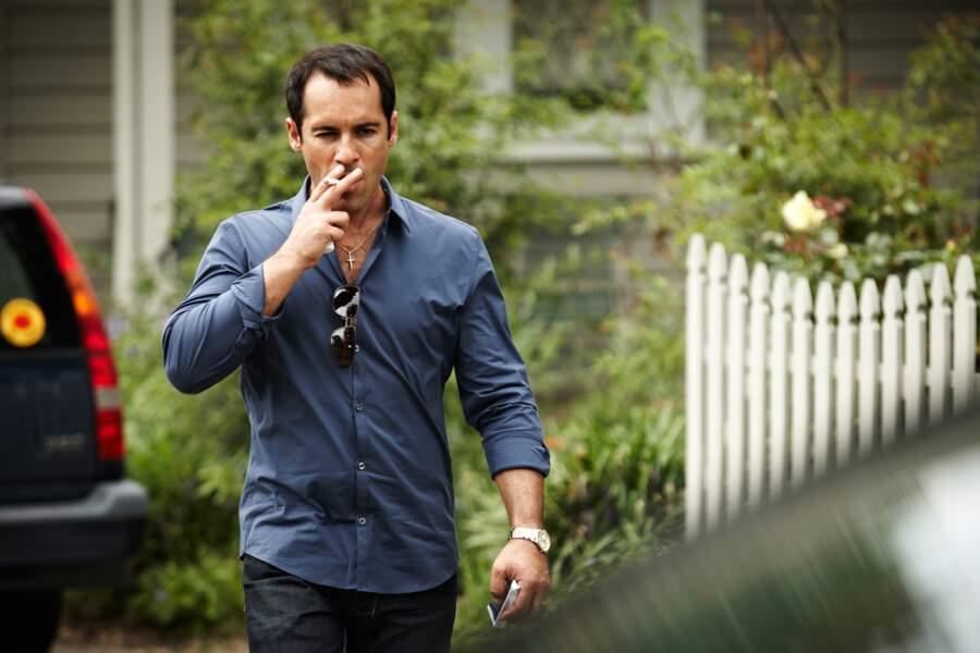 La gifle (3) :  Alex Dimitriades joue Harry, celui qui a donné la gifle, celui par qui tout à commencé