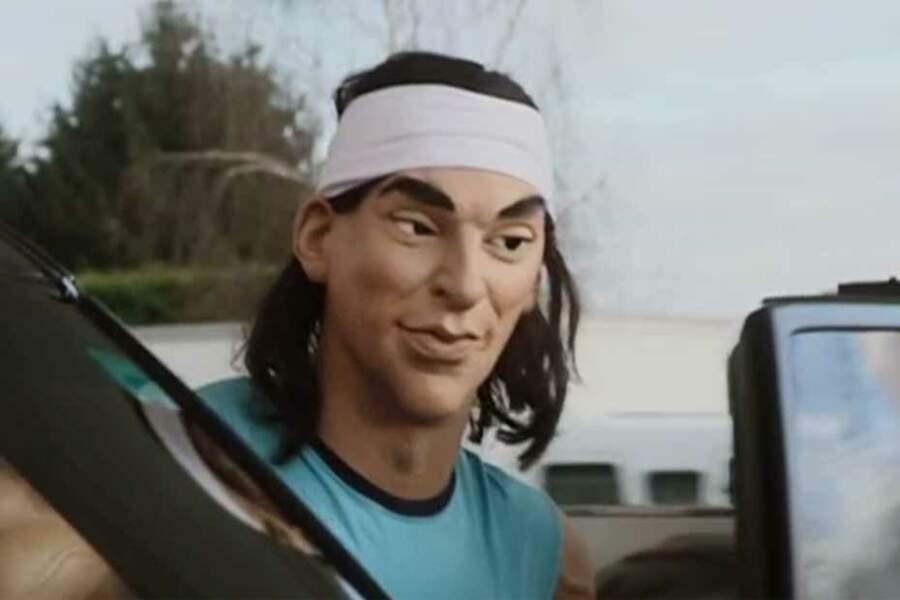 Trop louches, les victoires de Rafael Nadal ? Les Guignols s'amusent des rumeurs de dopes.