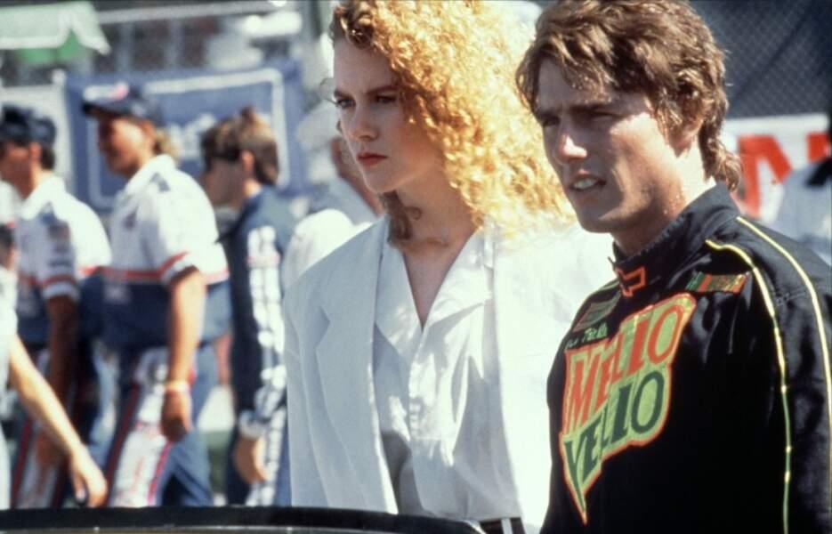 C'est sur le tournage de Jours de tonnerre en 1990 qu'elle rencontre Tom Cruise