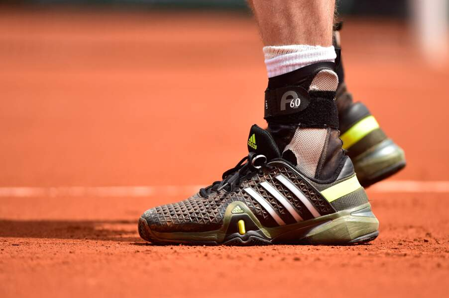 Que l'on apprend qu'Andy Murray attache son alliance à ses lacets ! (TROP MIGNON !)