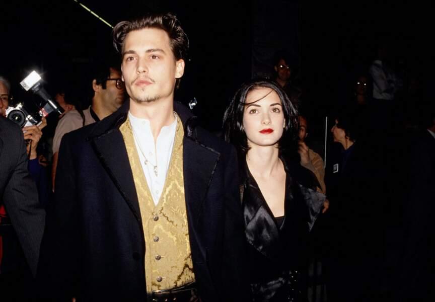 Le premier mariage de Johnny Depp avec Winona Ryder était un désastre