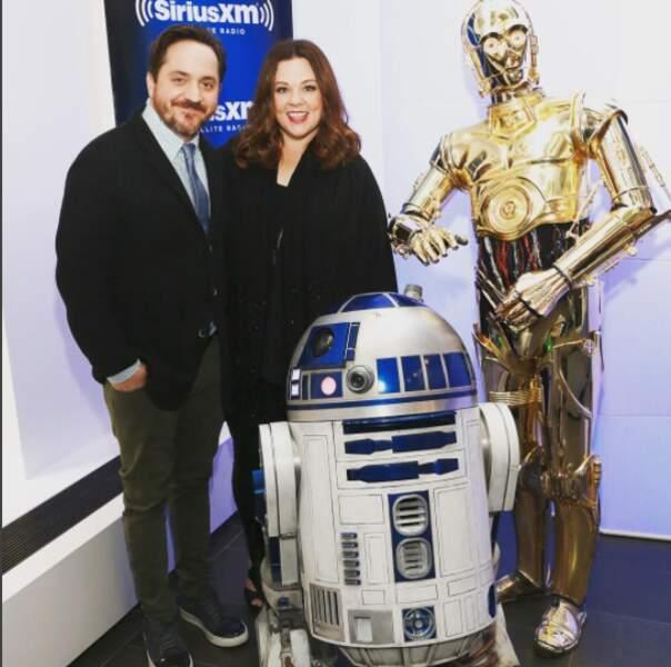 Partageant l'amour du cinéma, Monsieur et Madame sont aussi fans l'un que l'autre de Star Wars !