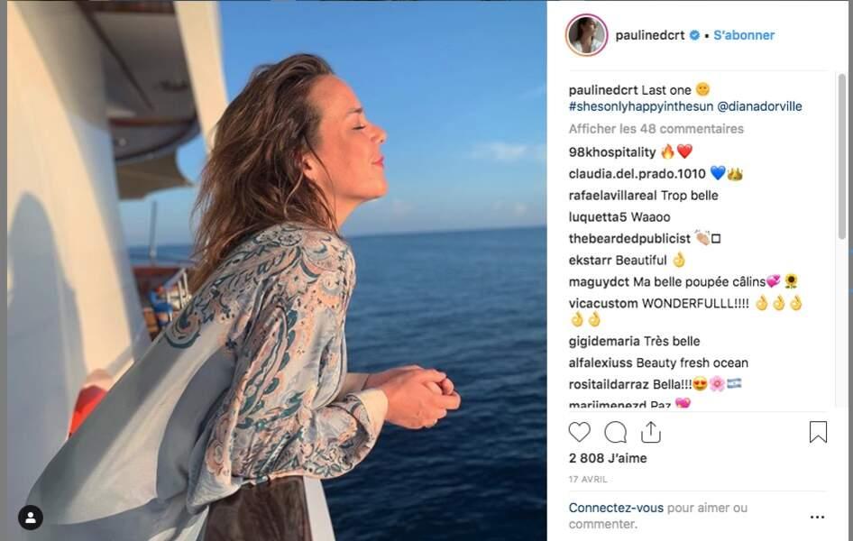 Pauline Ducruet n'hésite pas à parcourir le monde à la recherche des meilleurs spots
