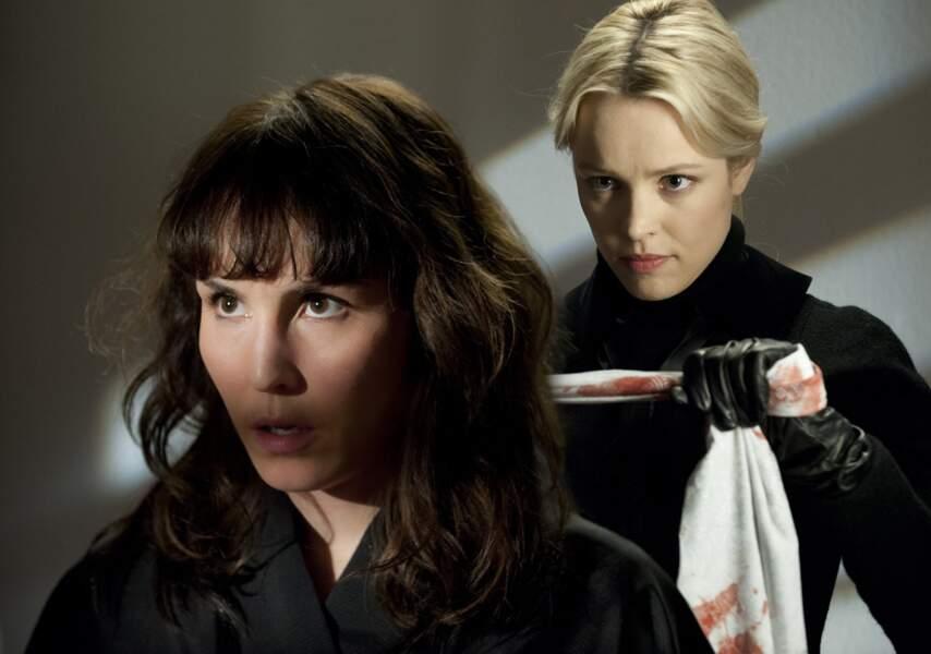 Dans ce remake de Crime d'amour d'Alain Corneau, Noomi partage l'affiche avec Rachel McAdams