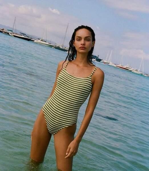 À 25 ans, la jolie brésilienne Luma Grothe compte parmi les visages de la marque de beauté L'Oréal...