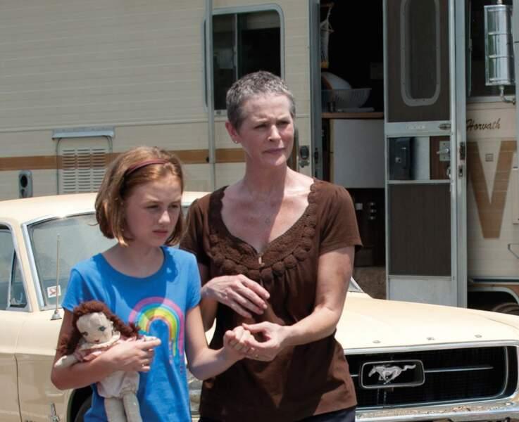 Melissa Suzanne McBride, alias Carol, a tourné dans plusieurs films dont The Mist en 2007