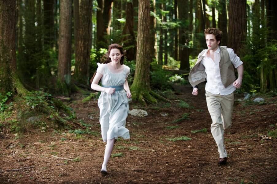 Kristen Stewart et Robert Pattinson, toujours très complices