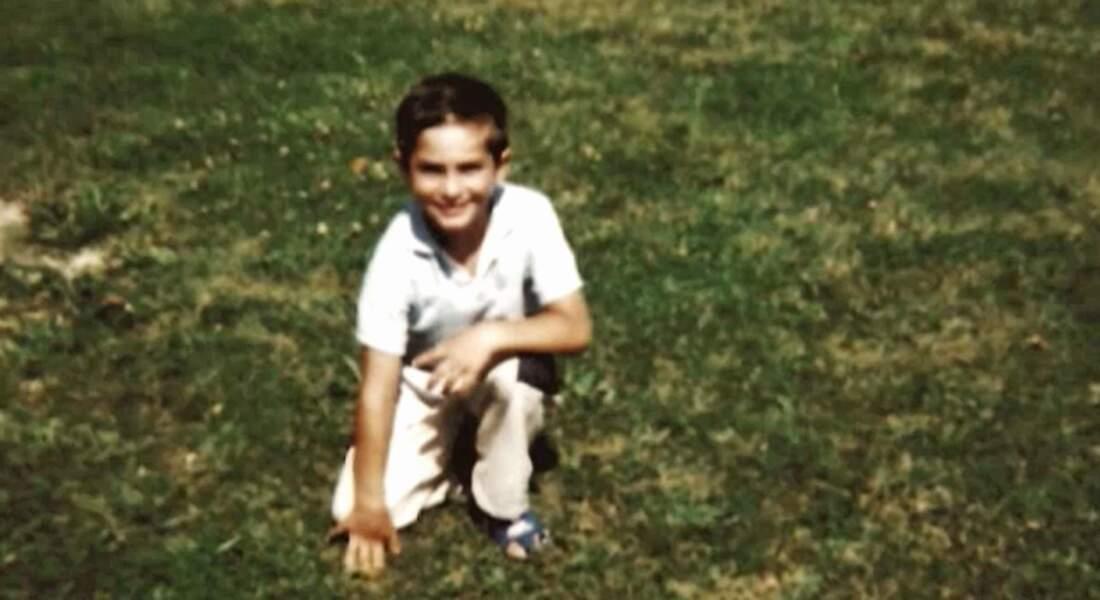 Enfant, Kendji était trop mignon