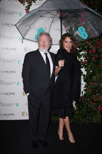 Pour cette Saint Valentin exceptionnelle, Ridley Scott est venu avec sa compagne, Giannina Facio