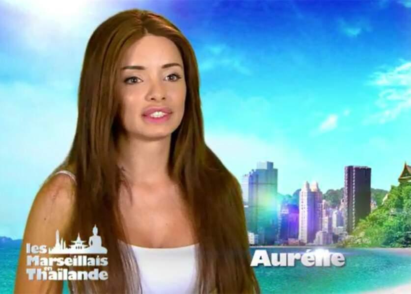 C'est dans Les Marseillais en Thaïlande qu'Aurélie a fait ses premiers pas à la télévision...