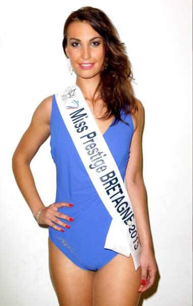 Cynthia Delage, Miss Prestige Bretagne 2013