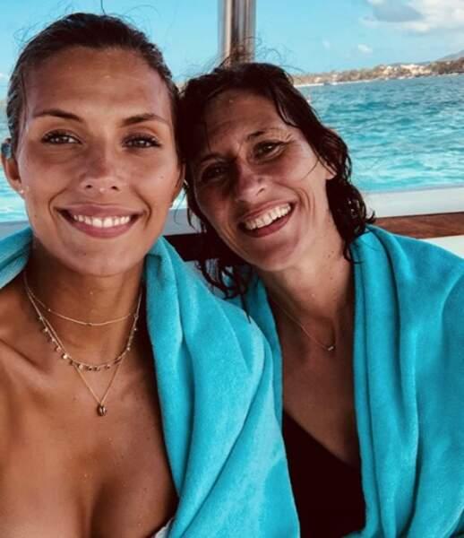 Selfie mère-fille à l'Île Maurice du côté de Camille Cerf...