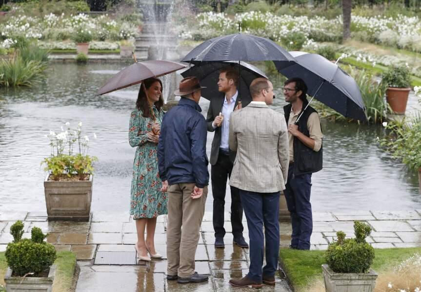 Kate Middleton les y a rejoints