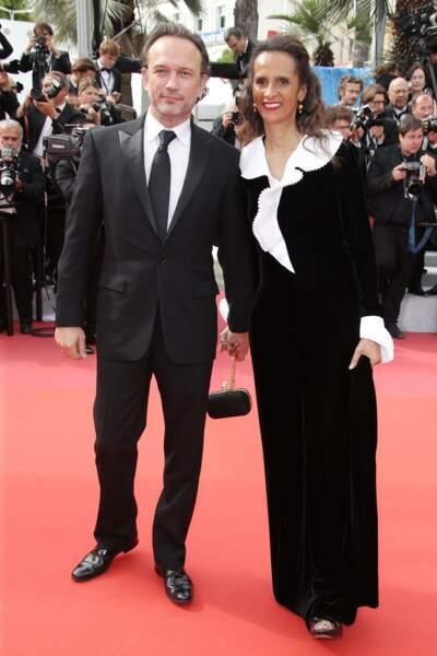Vincent Perez et Karine Silla