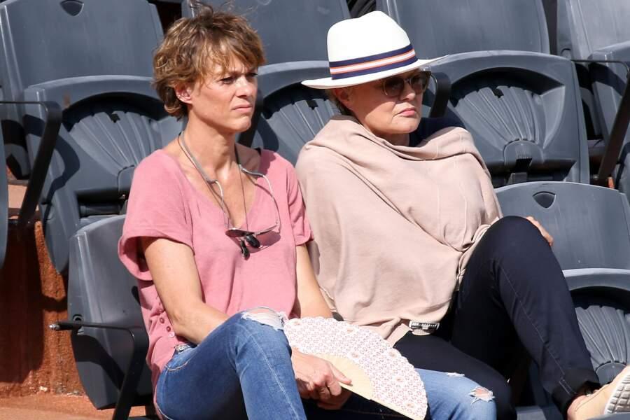 Muriel Robin était venue avec sa compagne Anne Le Nen