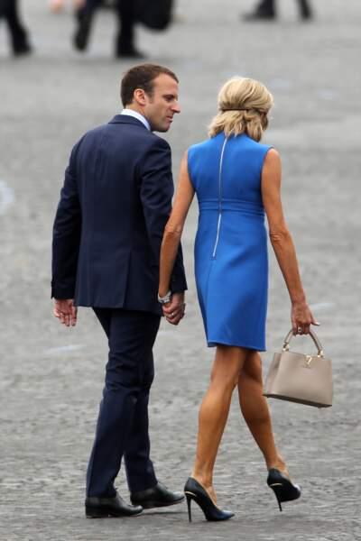 Brigitte Macron est toujours là pour épauler son mari