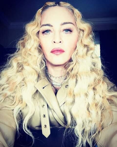 La fraicheur de Madonna