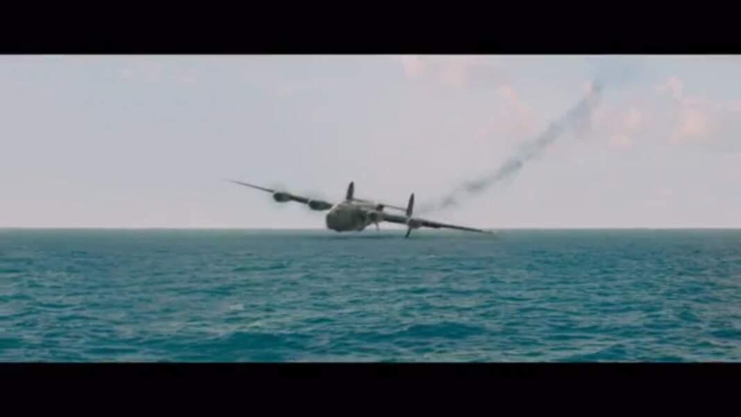 La séquence du crash dans Invincible (2014)