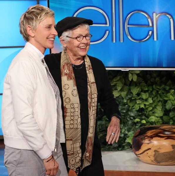 ... Et Ellen DeGeneres sa maman !