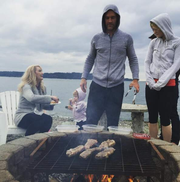 Pour James Van Der Beek, c'est barbecue time !