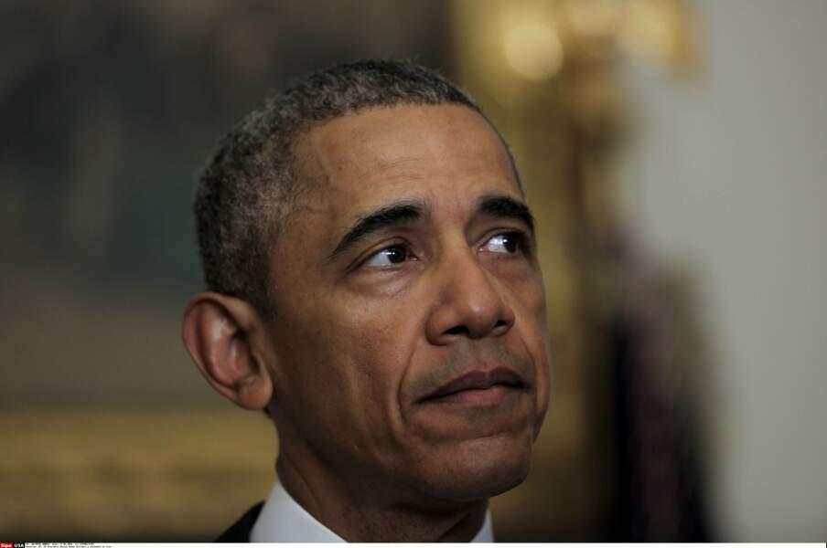 C'est la larme à l'oeil que Barack Obama fait ses adieux