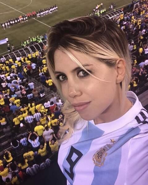 La jolie blonde d'origine argentine est surtout réputée pour défrayer la chronique...