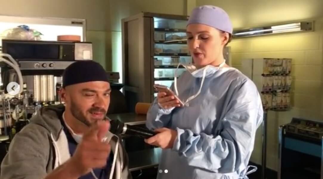 Entre deux scènes de Grey's Anatomy, Camilla Luddington endosse aussi le rôle de journaliste