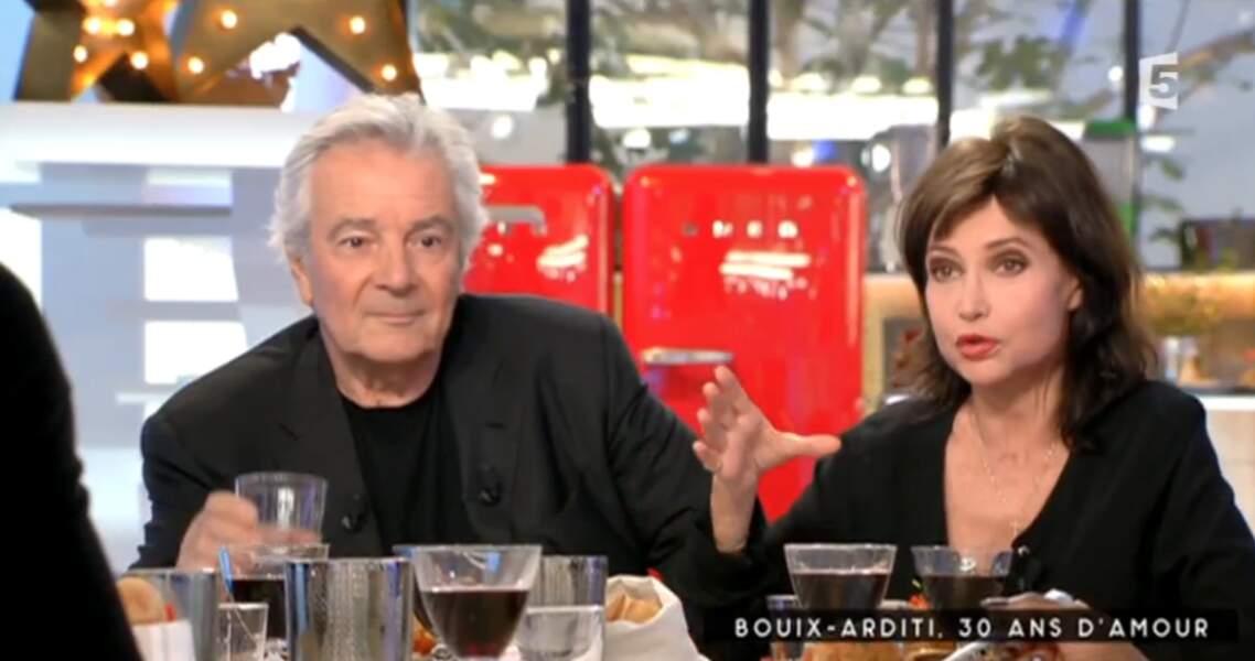 En revanche, pour Evelyne Bouix et Pierre Arditi, noir c'est noir
