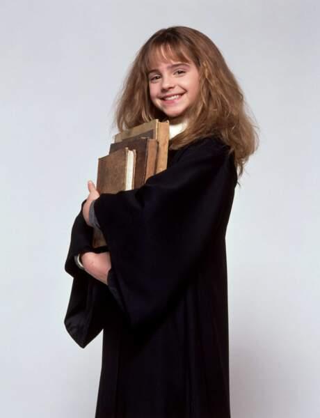 A 11 ans, les spectateurs du monde entier découvrent l'interprète d'Hermione Granger : Emma Watson !