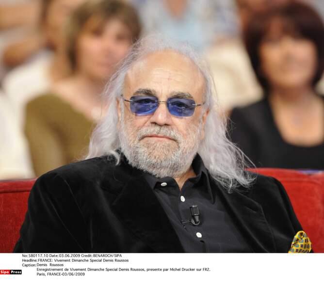 Le chanteur Demis Roussos est décédé à l'âge de 68 ans.