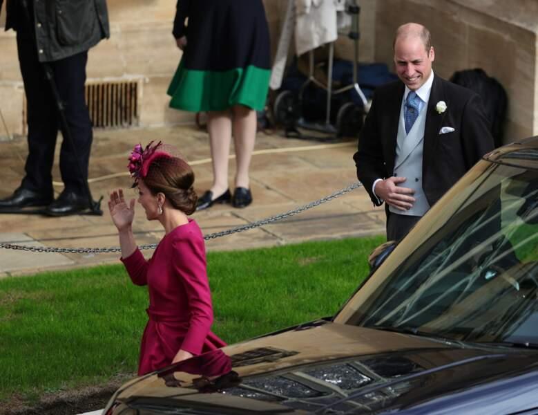 Le prince William et Kate Middleton