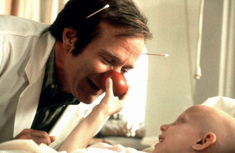 Robin Williams, inimitable dans Docteur Patch en 1998