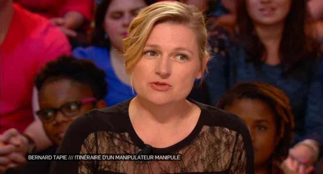 """Dans la catégorie """"bouh la copieuse !"""" : le petit haut noir d'Anne-Elisabeth Lemoine..."""