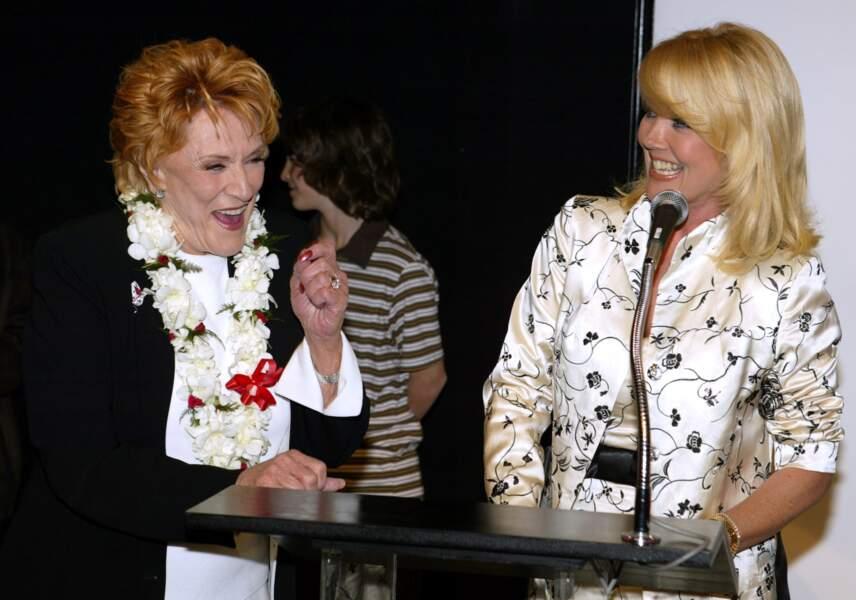 Jeanne et Melody complices pour fêter la 30e année de Jeanne dans les Feux.