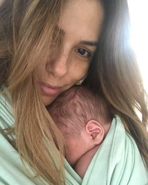 L'actrice et son mari José Bastón ont accueilli leur premier bébé le 19 juin 2018