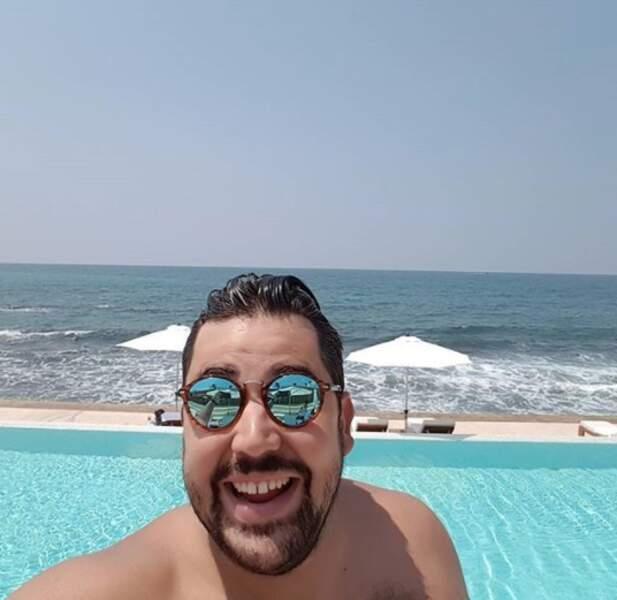 Il fait beau au Liban et ça rend Artus tout content.