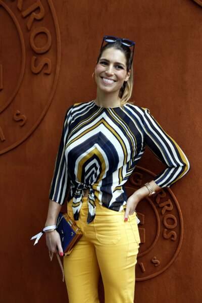 La sublime et sportive Laury Thilleman
