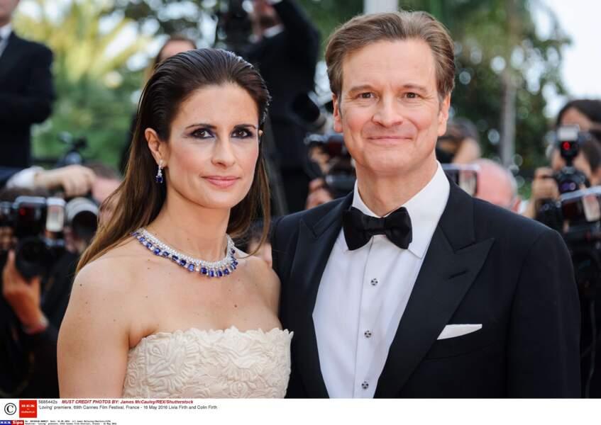 La belle Italienne est mariée avec l'acteur anglais depuis 17 ans