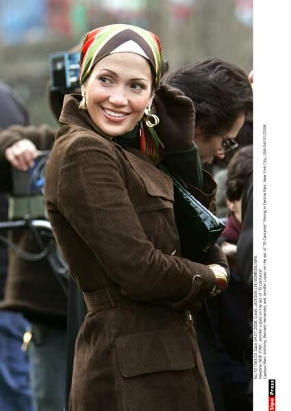 Changement de style pour incarner Puchie Lavoe dans le film El Cantante en 2006.