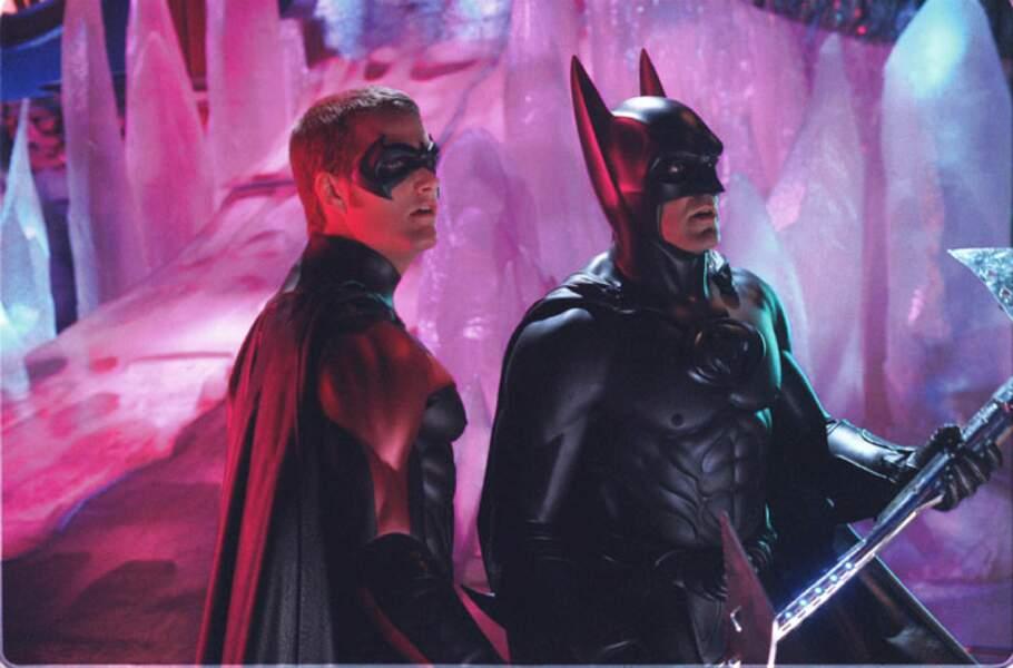 George Clooney dans Batman et Robin (1997), l'un de ses rares ratés