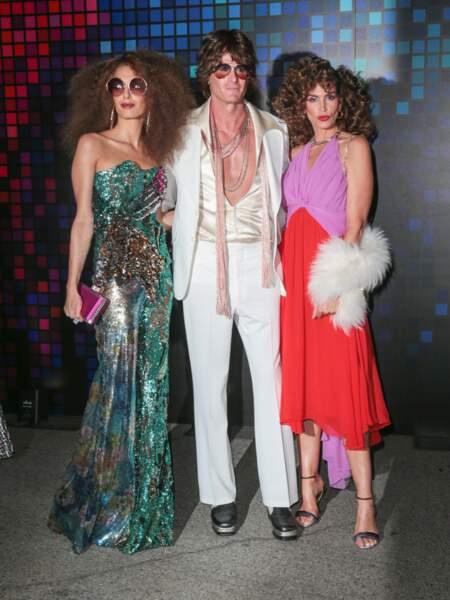 Amal Clooney, Rande Gerber et Cindy Crawford ont fêté Halloween chez Tower Records à Los Angeles